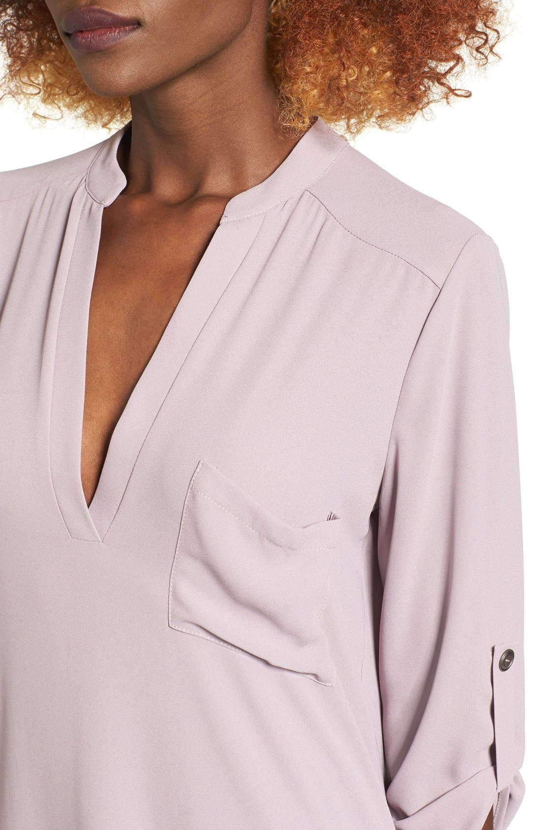 ,                             Perfect Roll Tab Sleeve Tunic,                             Alternate thumbnail 228, color,                             251
