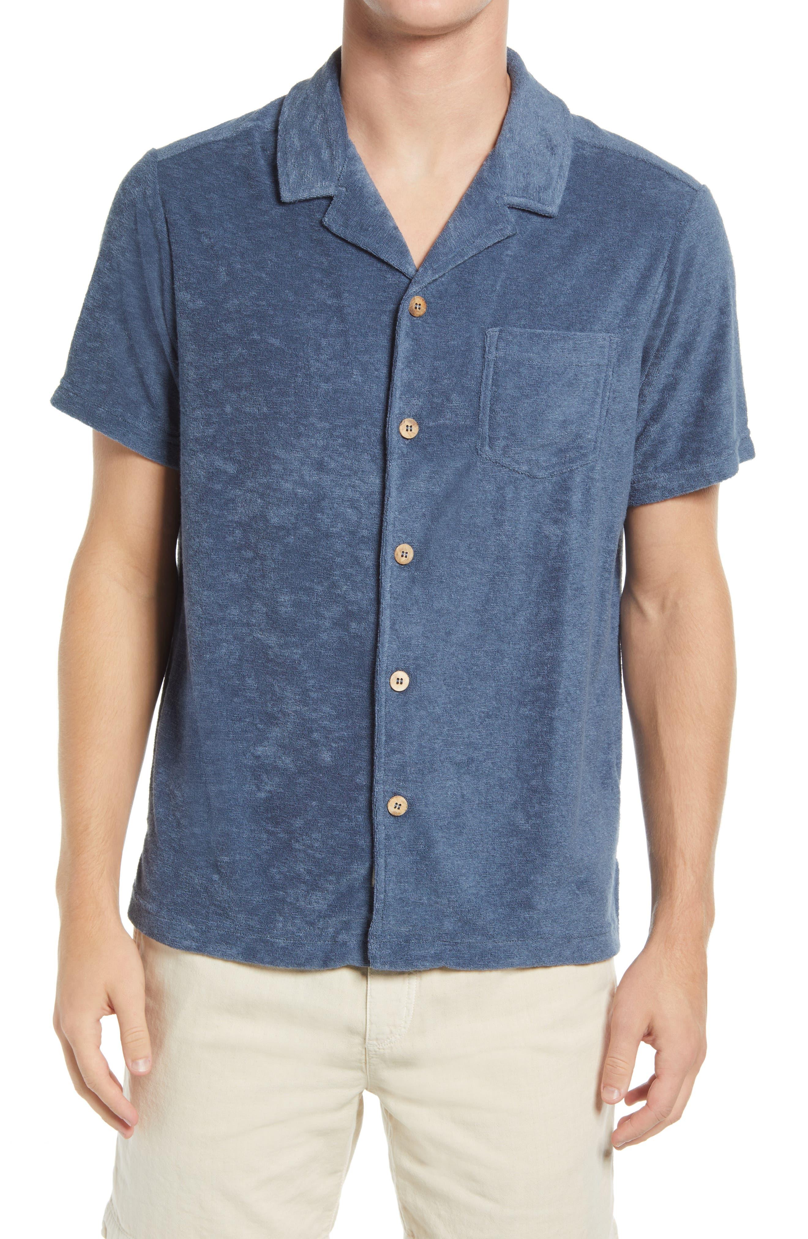 Resort Short Sleeve Button-Up Camp Shirt