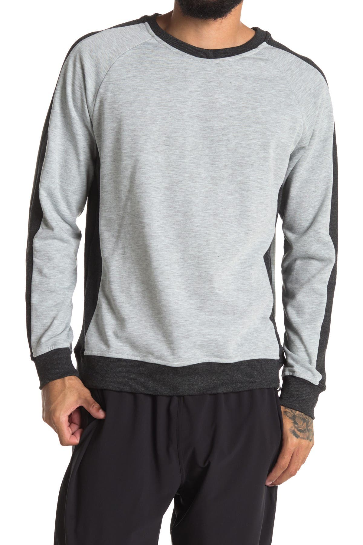 Image of Sovereign Code Damion Raglan Pullover