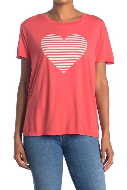 Image of Sundry Heart Short Sleeve Loose Tee