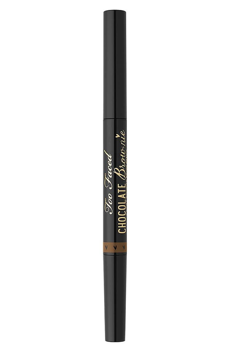 TOO FACED Chocolate Brow-nie Cocoa Powder Brow Pencil, Main, color, SOFT BROWN