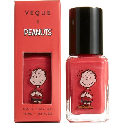 Veque X Peanuts Ve Vernis Nail Polish - Red-Linus (Nordstrom Exclusive)