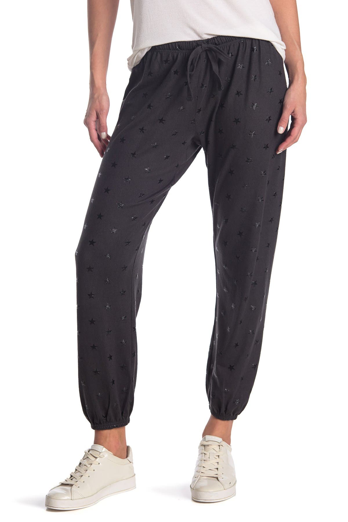 Image of ROW A Foil Star Joggers