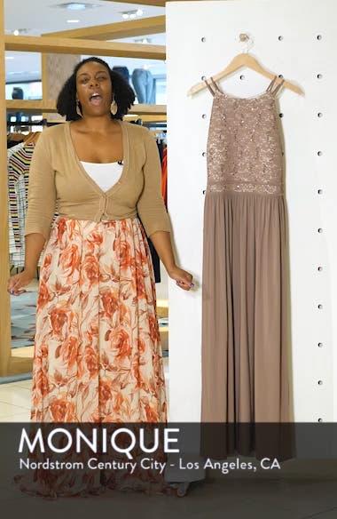 Lace Bodice Evening Dress, sales video thumbnail