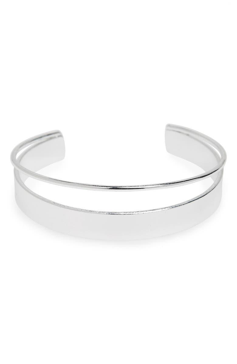 LEITH Cutout Cuff Bracelet, Main, color, 040