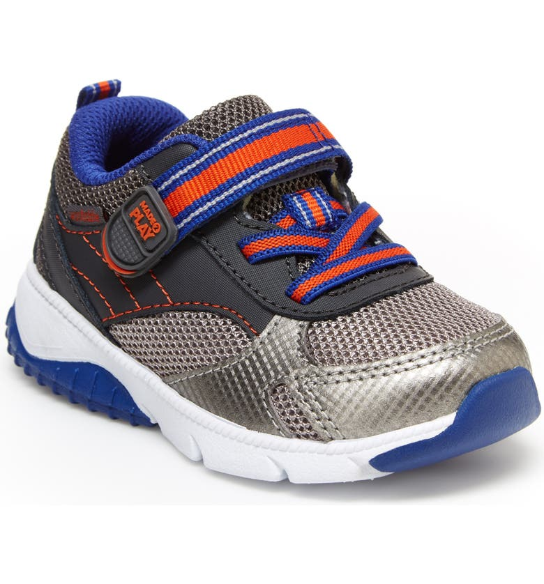 STRIDE RITE M2P Indy Sneaker, Main, color, GREY