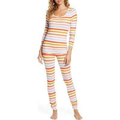 Bp. Hacci Fitted Pajamas, Brown