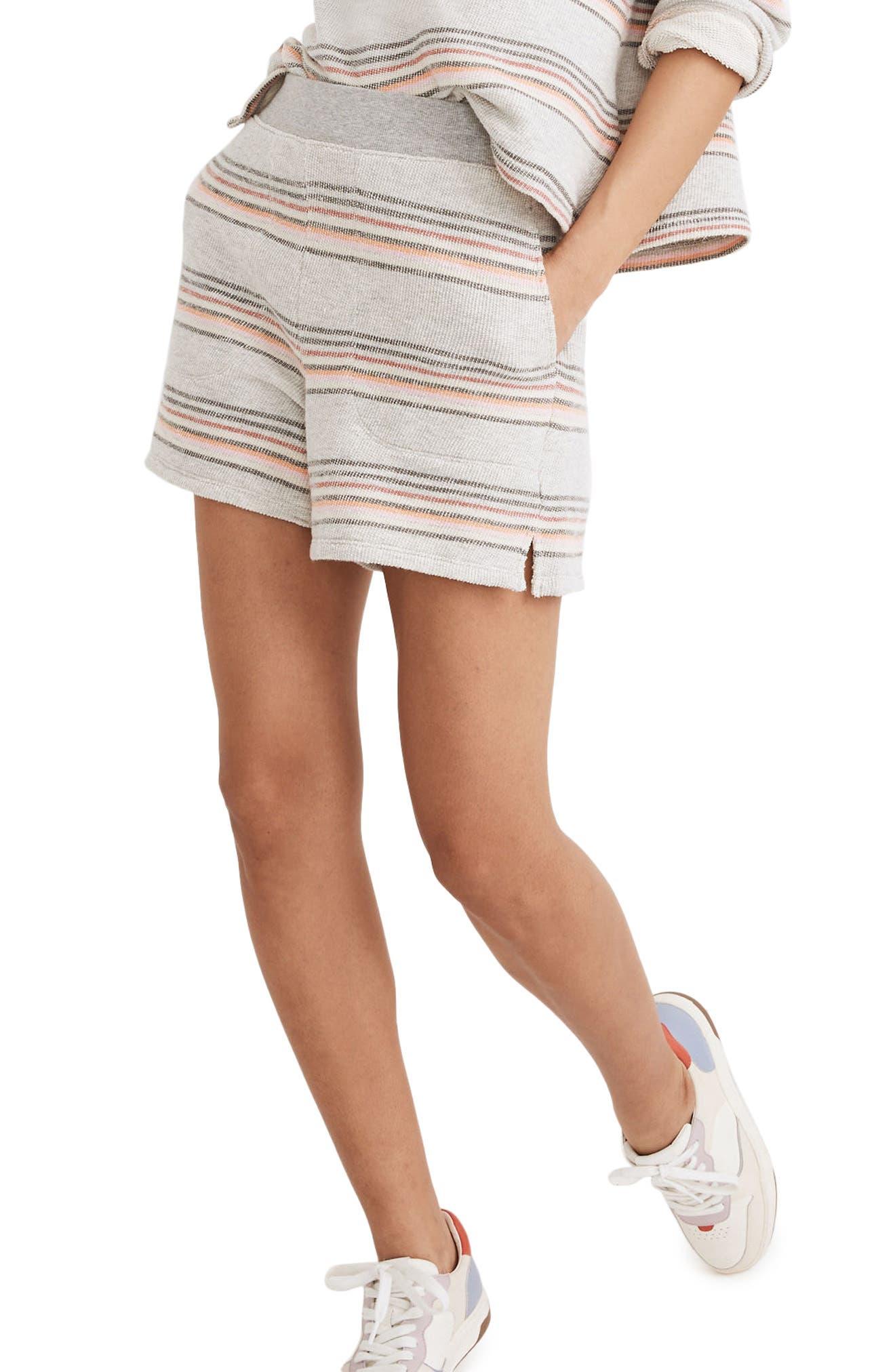 Stitched Pocket Sweat Shorts