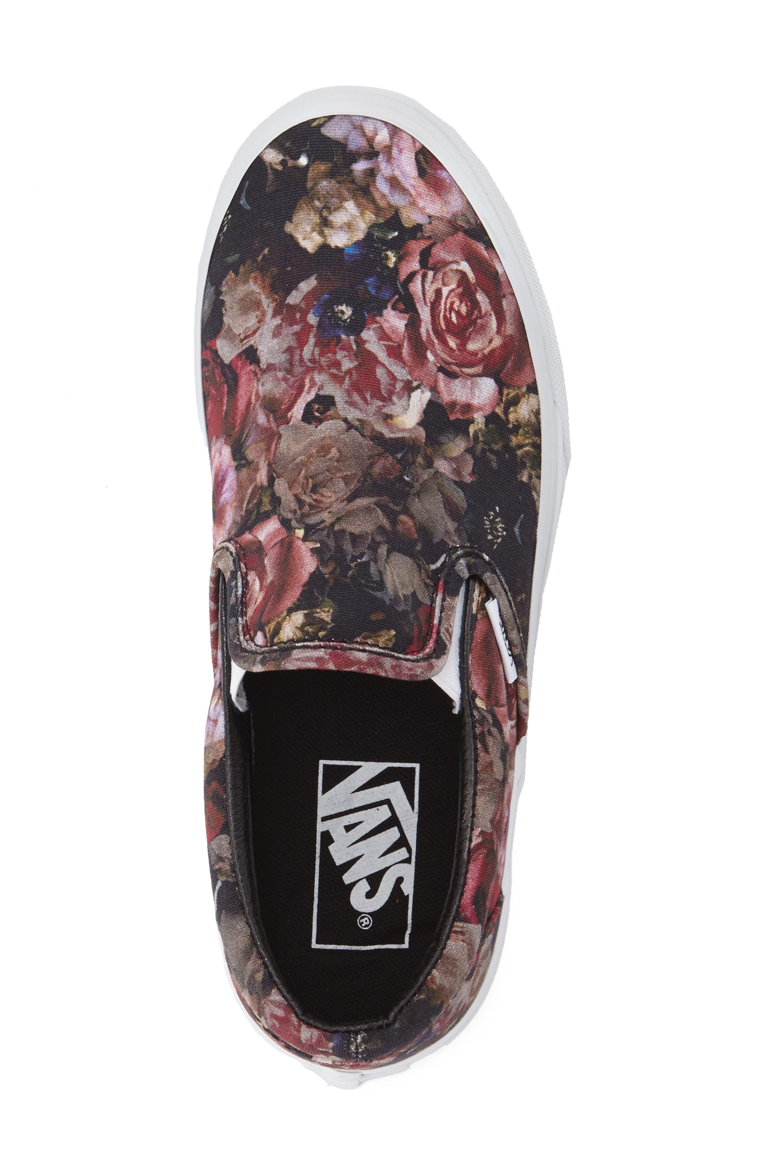,                             Classic Slip-On Sneaker,                             Alternate thumbnail 249, color,                             004