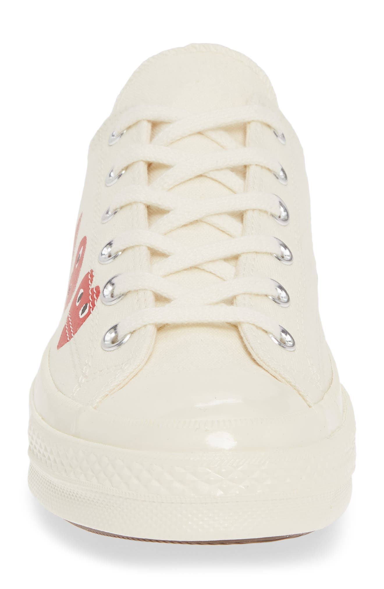 ,                             x Converse Chuck Taylor<sup>®</sup> Low Top Sneaker,                             Alternate thumbnail 4, color,                             OFF WHITE