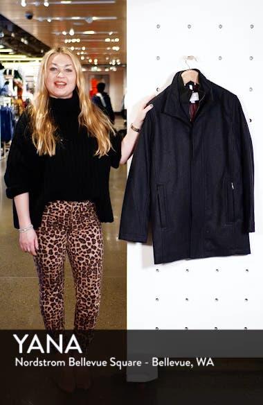 Melton Wool Blend Coat, sales video thumbnail