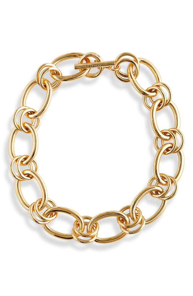 ST. JOHN COLLECTION Chain Necklace, Main, color, GOLD