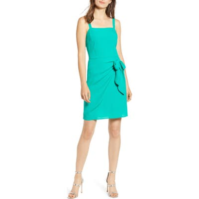 Chelsea28 Side Tie Sundress, Green