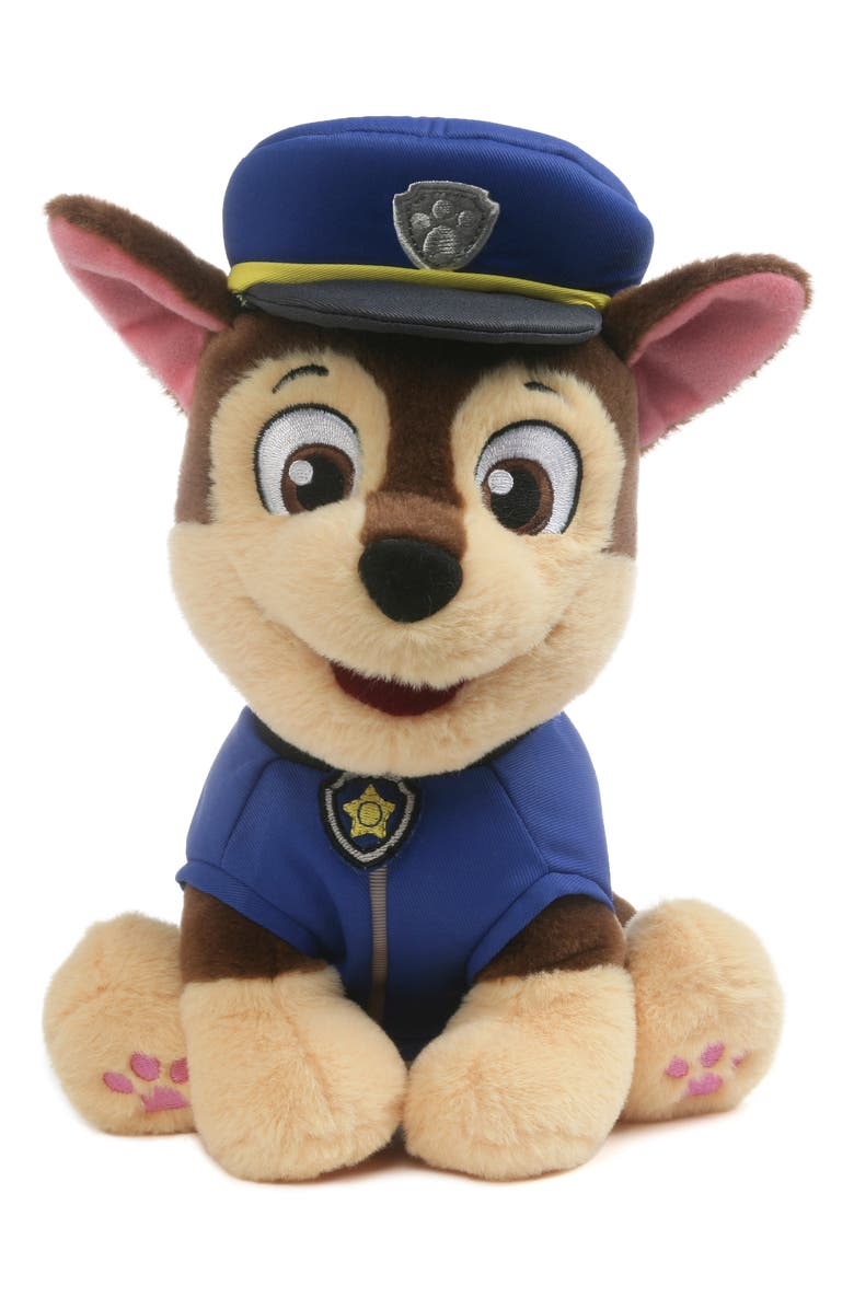 GUND PAW Patrol Chase Stuffed Animal, Main, color, 401