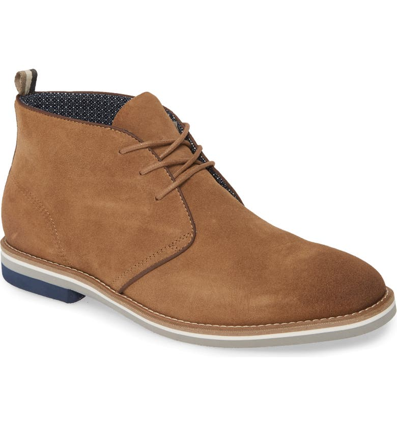 1901 Biscayne Chukka Boot, Main, color, TAN SUEDE