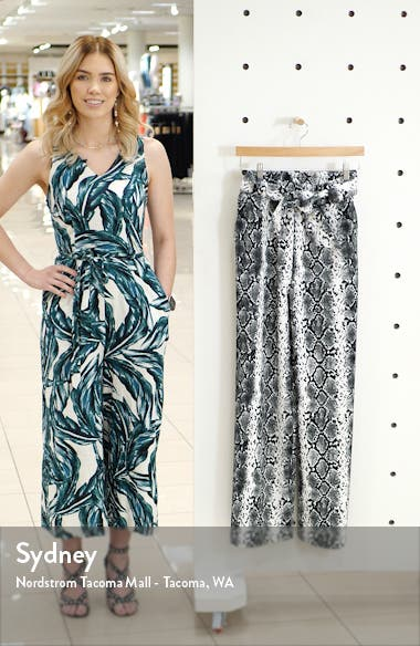 Belted Paperbag Waist Pants, sales video thumbnail