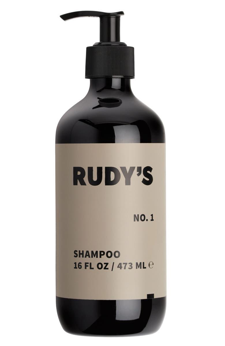 RUDY'S Barbershop No. 1 Shampoo, Main, color, NO COLOR