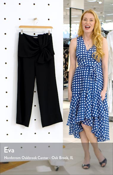Connie Knotted Wide Leg Pants, sales video thumbnail