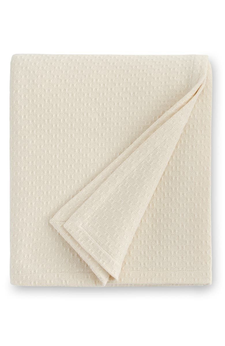 SFERRA Corino Blanket, Main, color, IVORY