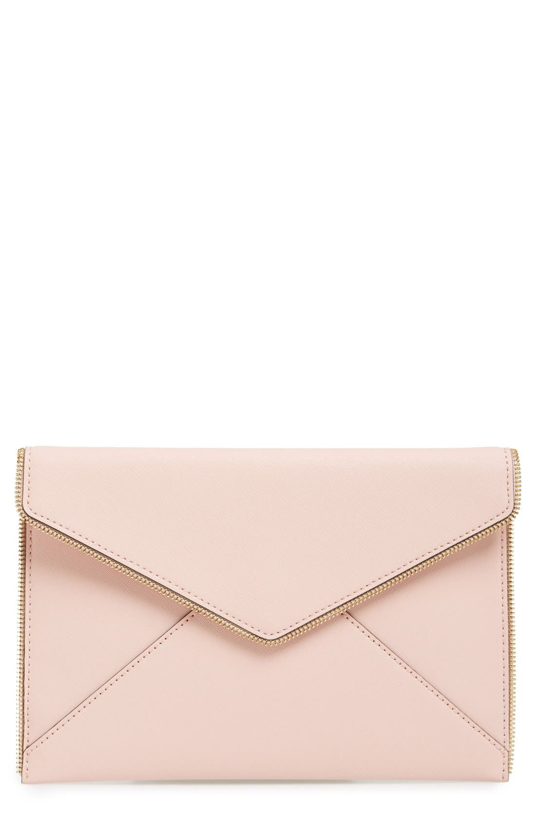 ,                             Leo Envelope Clutch,                             Main thumbnail 266, color,                             650