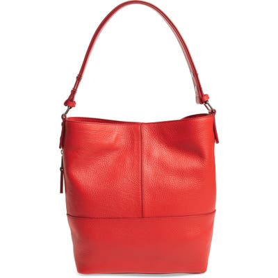 Treasure & Bond Sydney Leather Convertible Hobo - Red