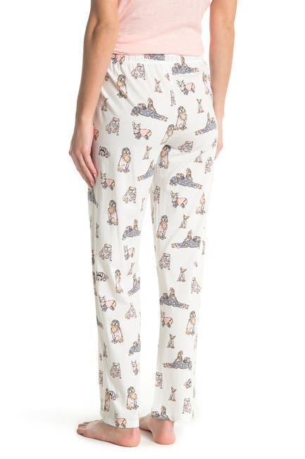 Image of PJ SALVAGE Patterned Knit Pajama Pants