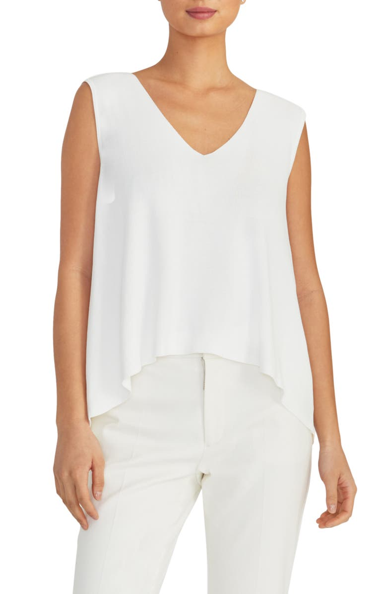 RACHEL ROY COLLECTION V-Neck Knit Swing Top, Main, color, 196