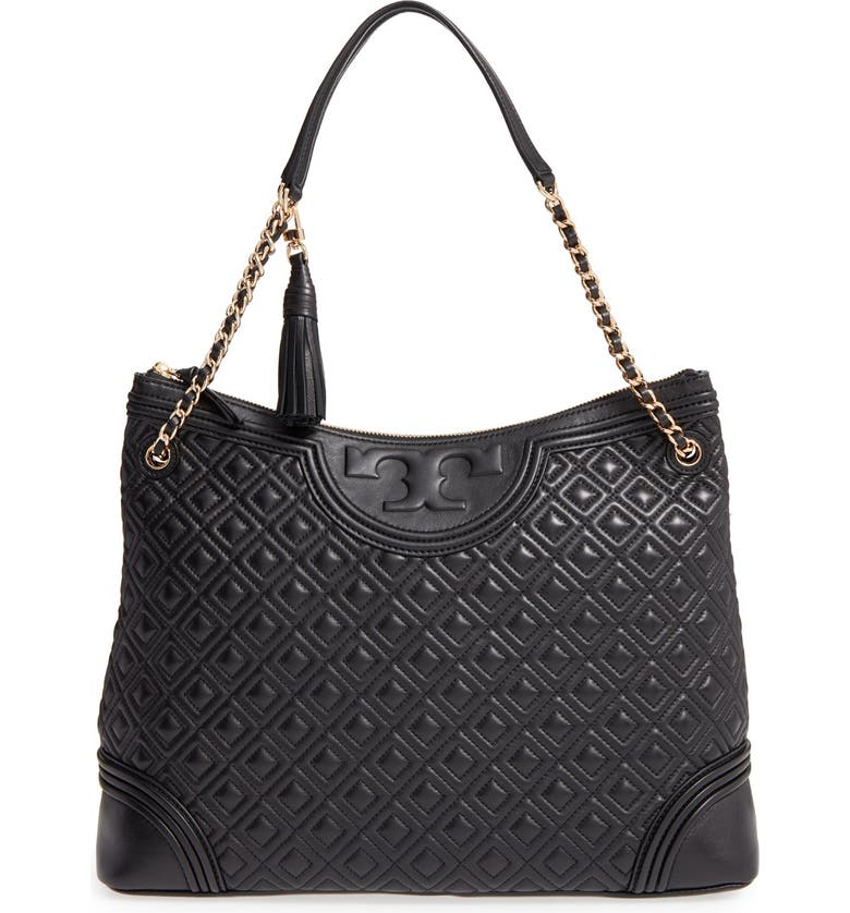Tory Burch Fleming Leather Shoulder