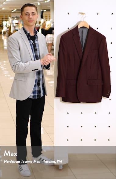 Classic Fit Solid Wool Sport Coat, sales video thumbnail