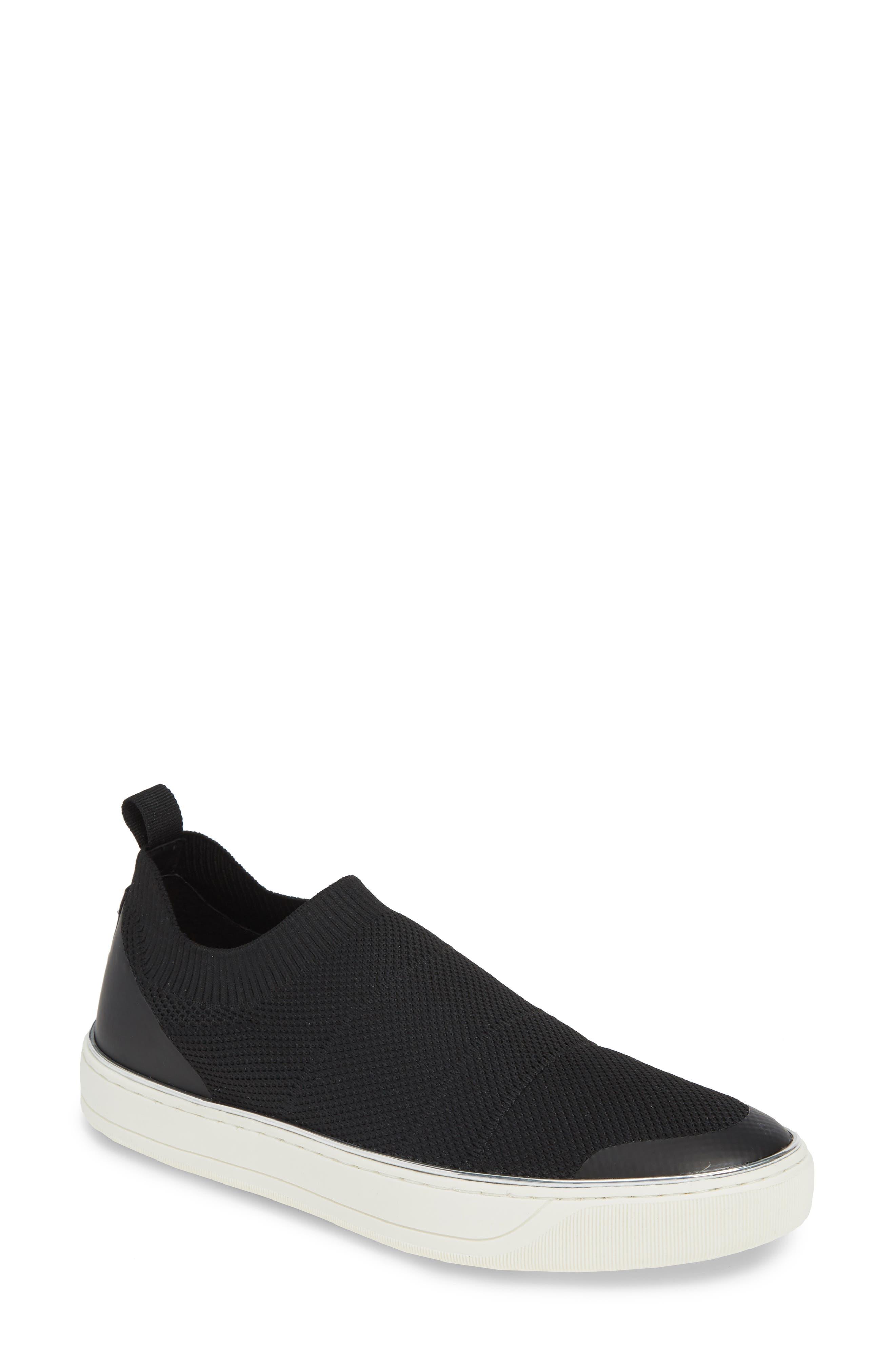 Johnston & Murphy Ember Slip-On Sneaker, Black