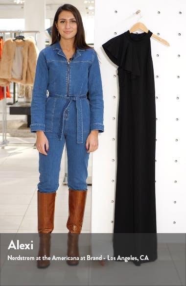 Margaux One Shoulder Maxi Dress, sales video thumbnail