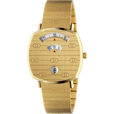 Gucci Grip Bracelet Watch, 35Mm