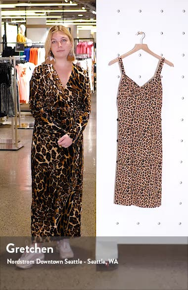 Leopard Print Sundress, sales video thumbnail