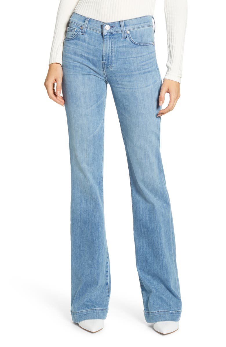 7 FOR ALL MANKIND<SUP>®</SUP> Dojo Wide Leg Jeans, Main, color, ALTA BLUE