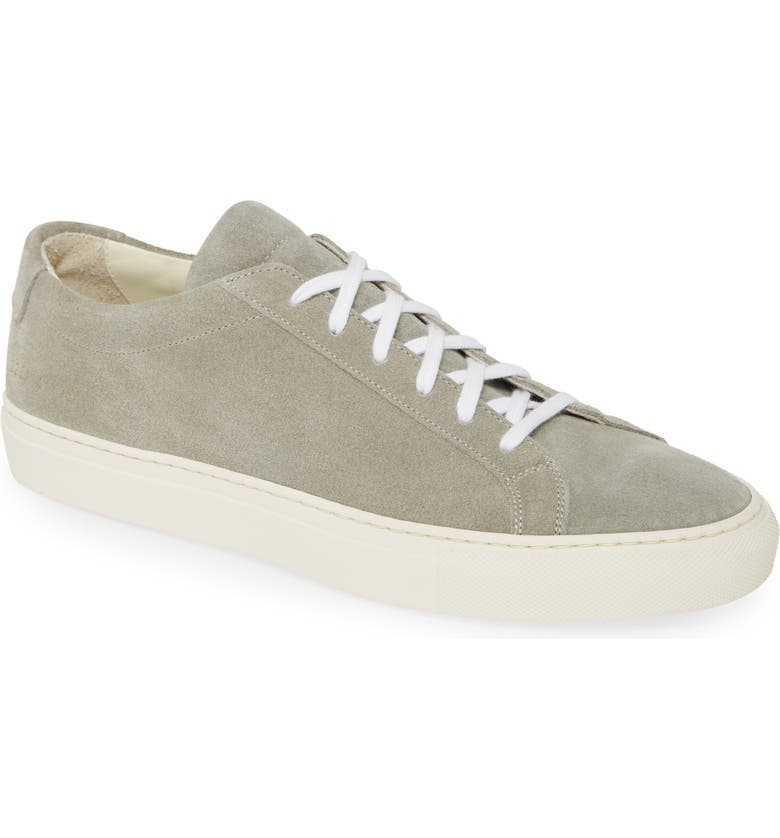 COMMON PROJECTS Original Achilles Low Top Sneaker, Main, color, GREY