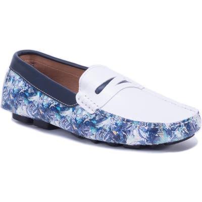 Robert Graham Doggerland Driving Shoe, White