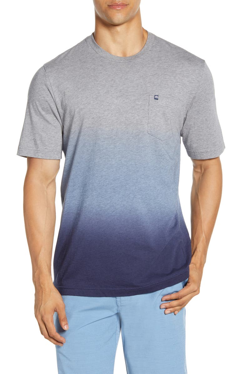 TRAVISMATHEW Hide the Evidence Regular Fit T-Shirt, Main, color, HEATHER GREY