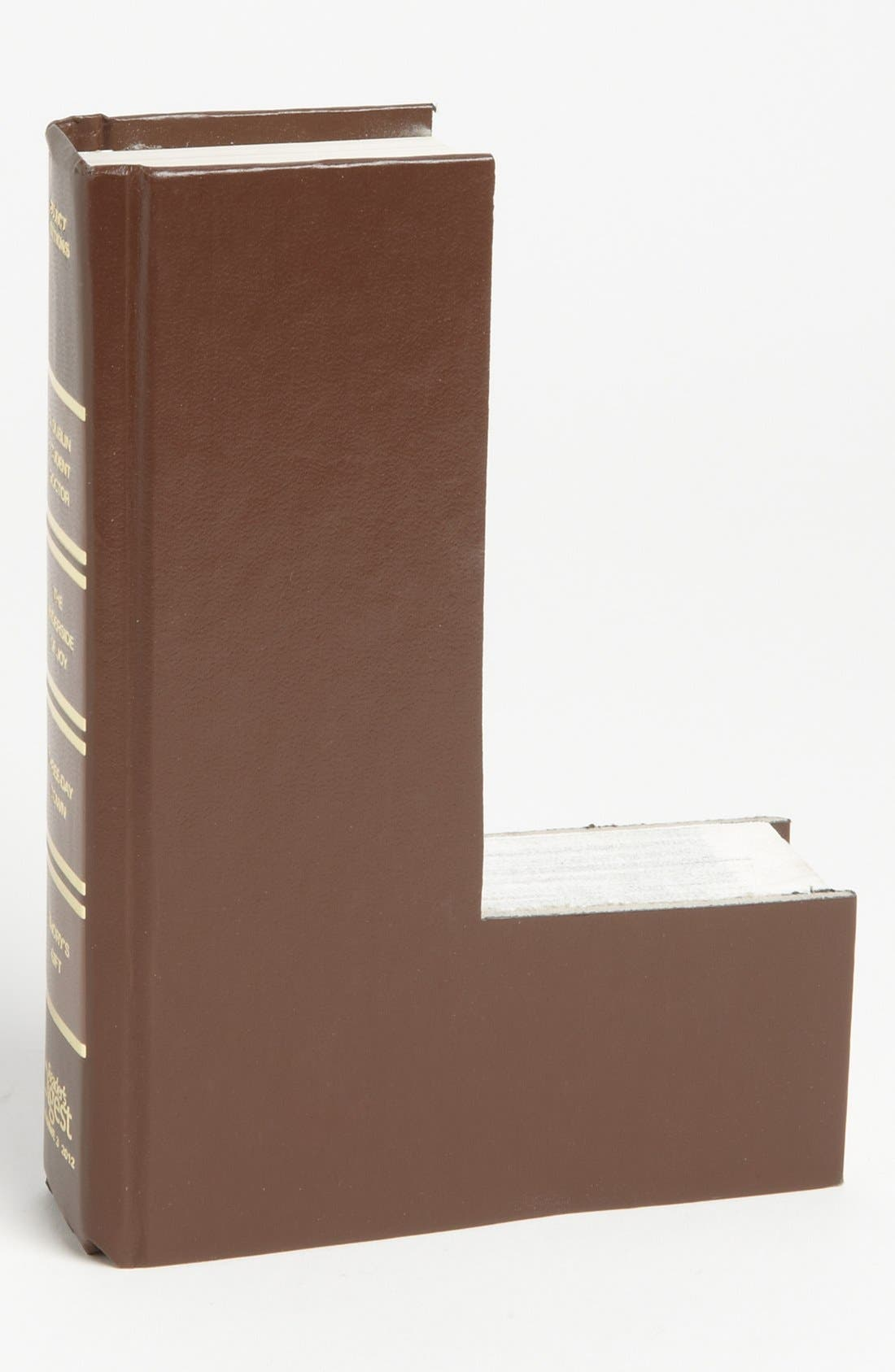 ,                             'One of a Kind Letter' Hand-Carved Recycled Book Shelf Art,                             Main thumbnail 56, color,                             211