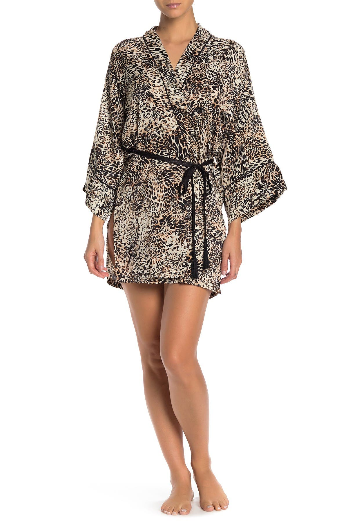 Image of In Bloom by Jonquil Animal Print Robe