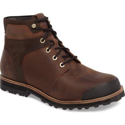 Keen The Rocker Waterproof Plain Toe Boot, Brown