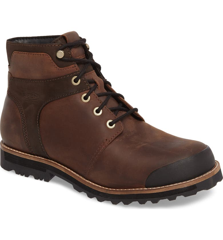 KEEN The Rocker Waterproof Plain Toe Boot, Main, color, BIG BEN/ EIFFEL