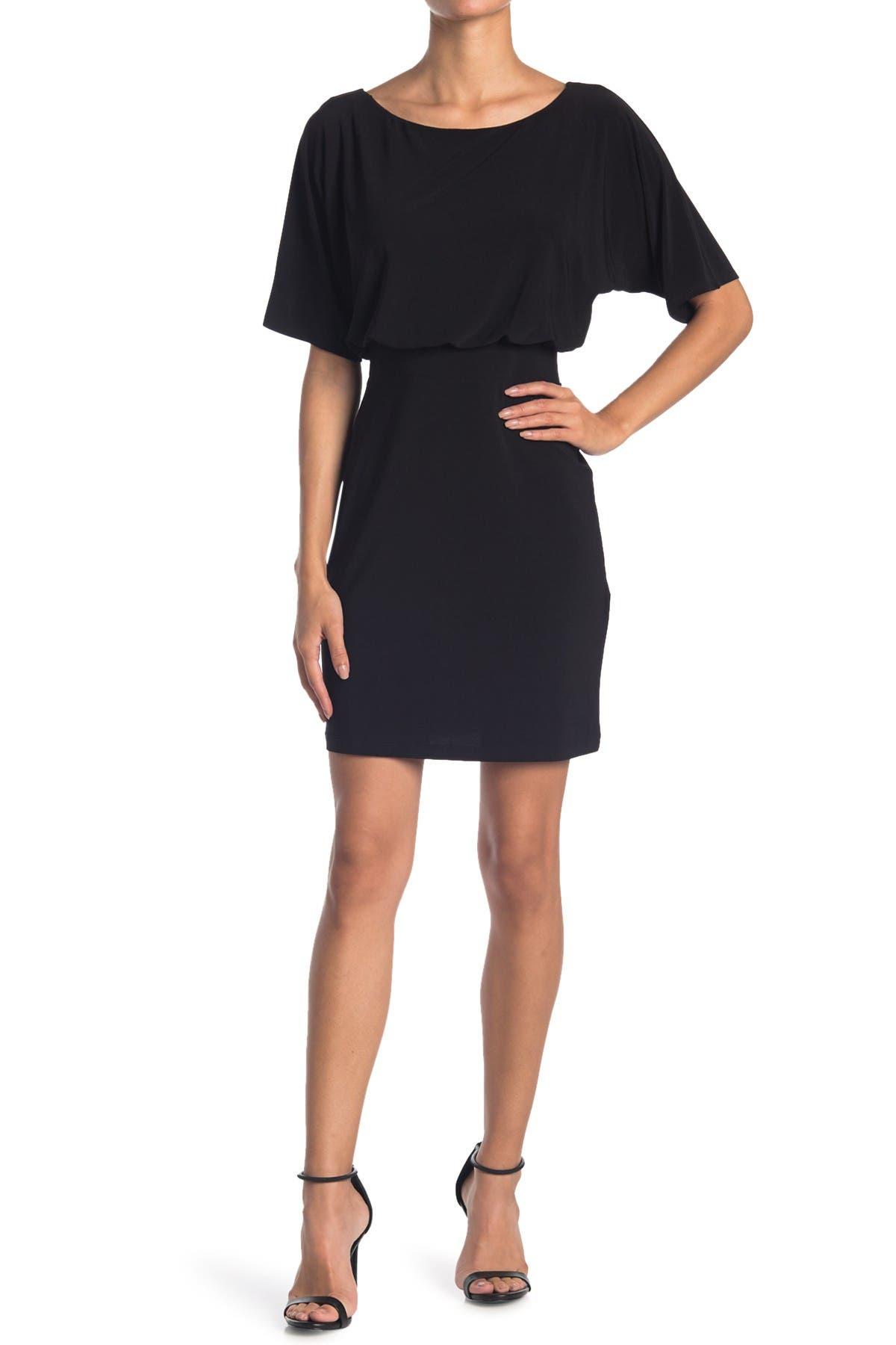 Image of TASH + SOPHIE Dolman Sleeve Jersey Sheath Dress