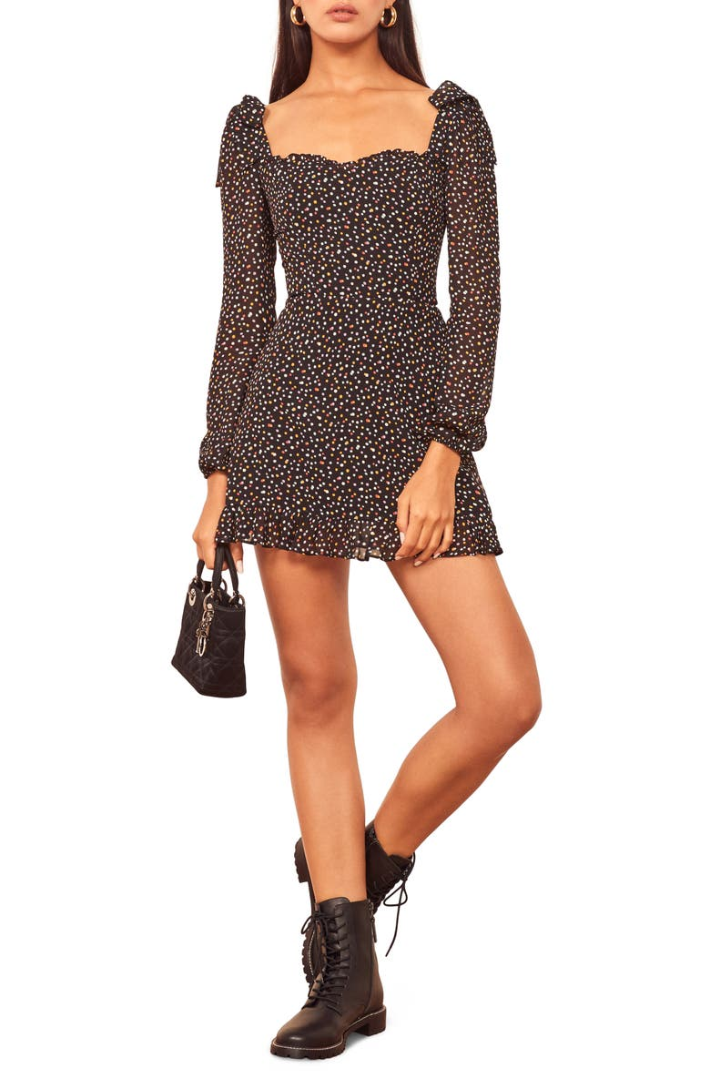REFORMATION Elin Minidress, Main, color, CONFETTI