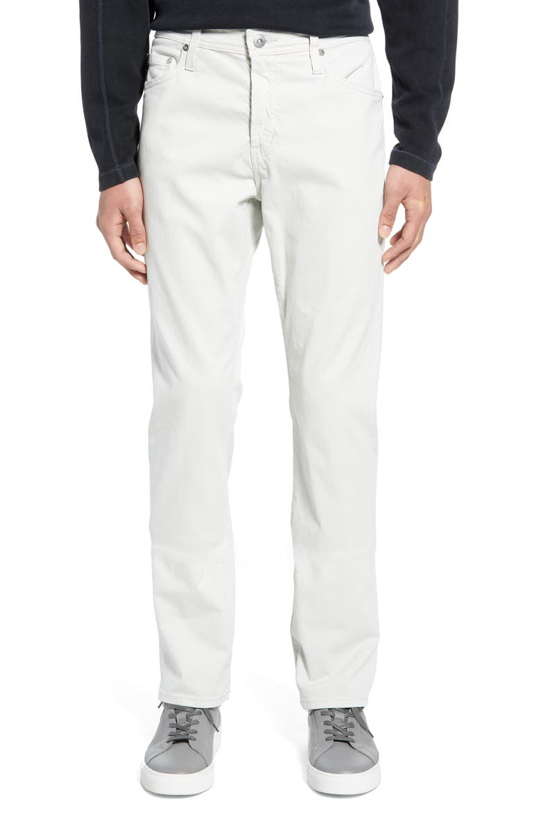 AG Everett SUD Slim Straight Fit Pants, Main, color, ANCHOR GREY