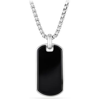 David Yurman Exotic Black Onyx Stone Tag