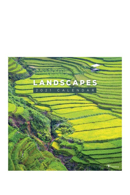 Image of TF Publishing 2021 Landscapes Wall Calendar