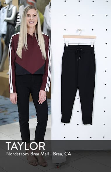 Repeat High Waist Crop Jogger Pants, sales video thumbnail