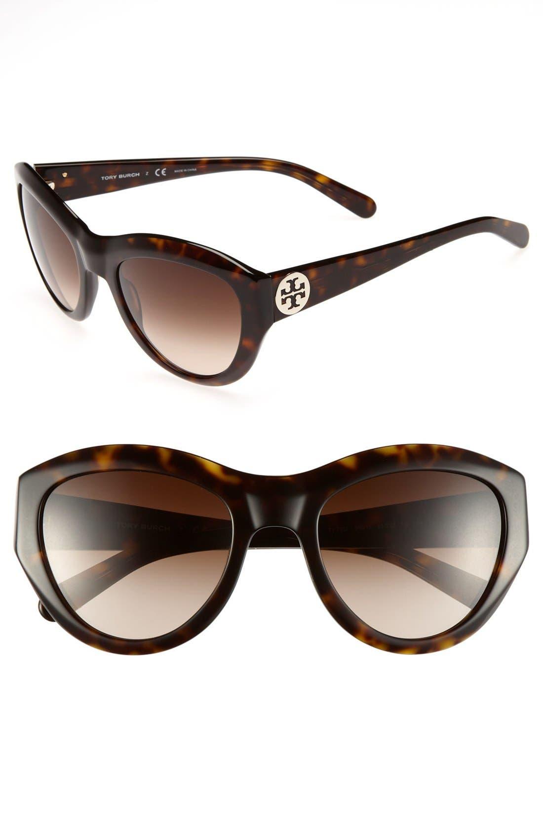 ,                             55mm Retro Sunglasses,                             Main thumbnail 3, color,                             201