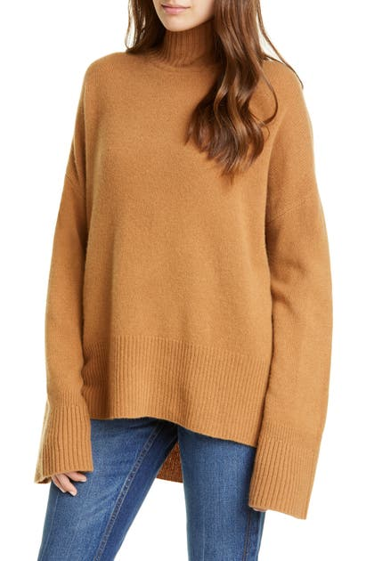 Frame Sweaters HIGH/LOW CASHMERE SWEATER