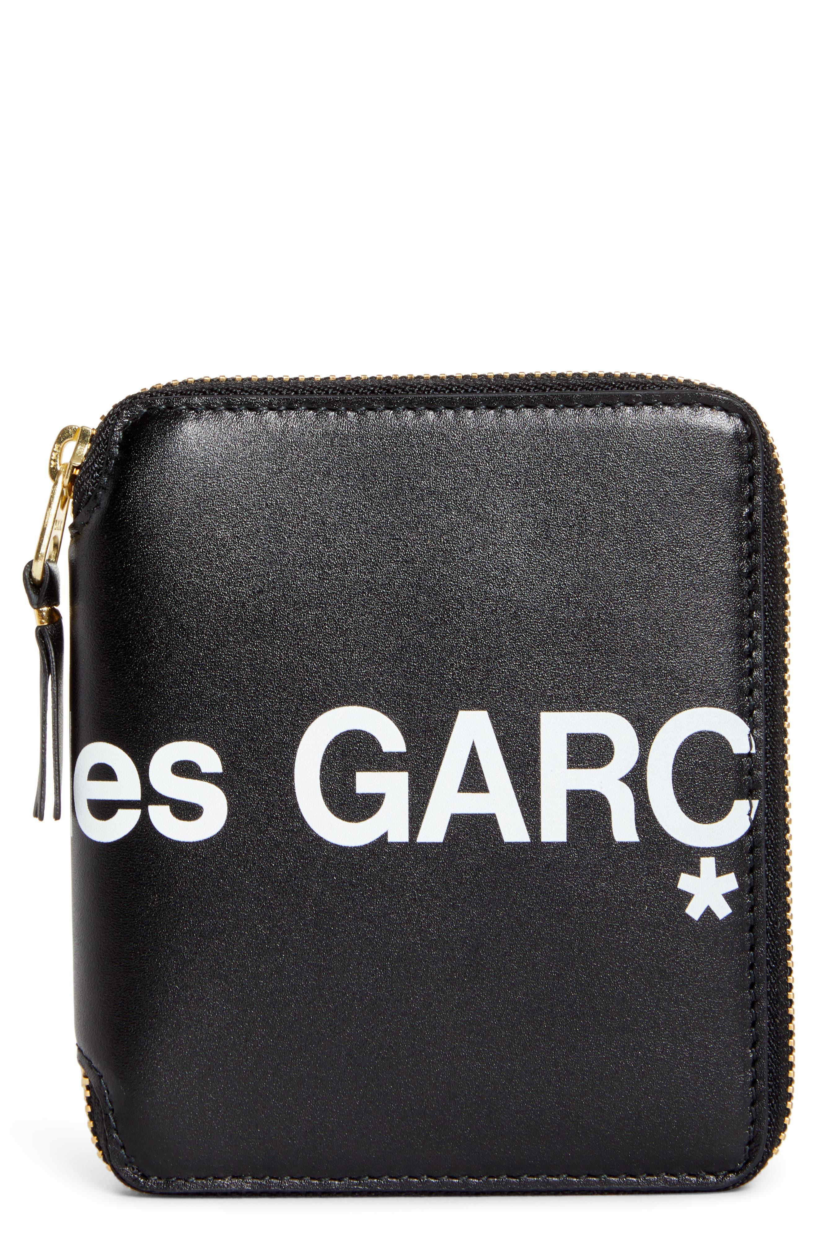 Comme des Garçons Huge Logo Zip Around Wallet | Nordstrom